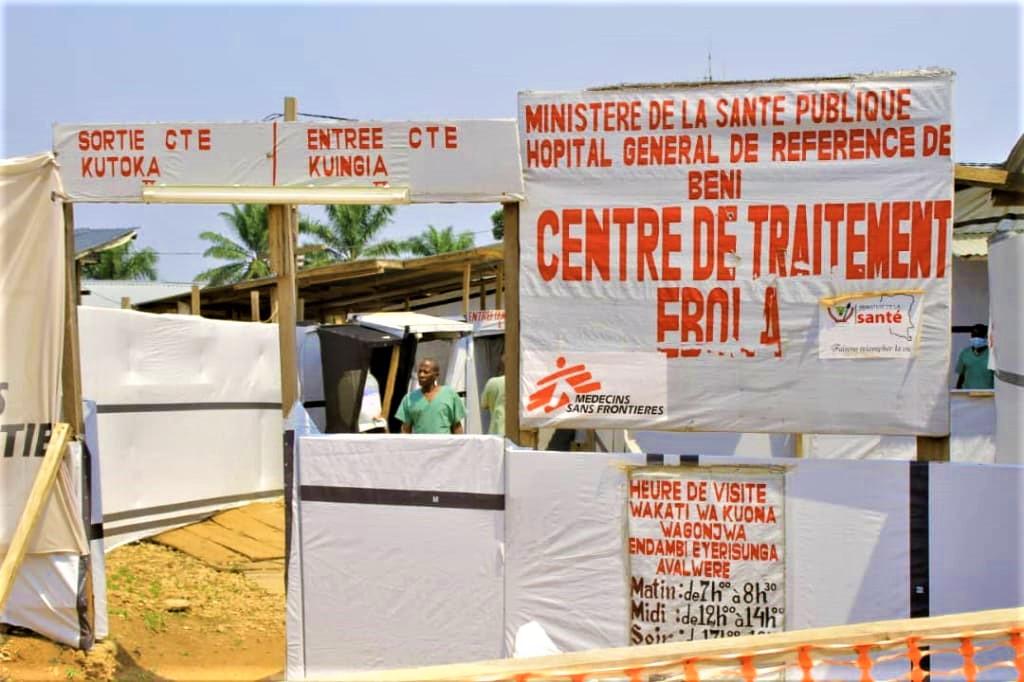 Ebola centre de traitement