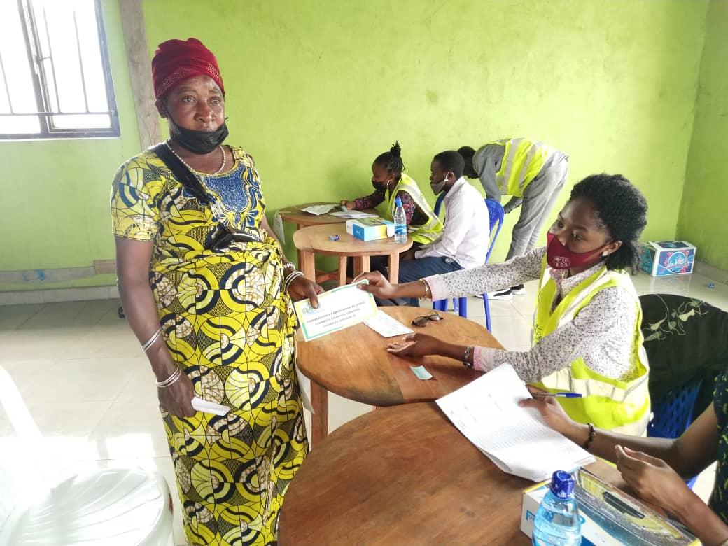 Goma : IEDA Relief assiste des sinistrés du volcan Nyiragongo en cash pour leur relèvement économique